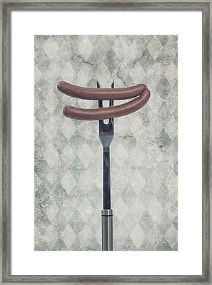Wieners Framed Print by Joana Kruse