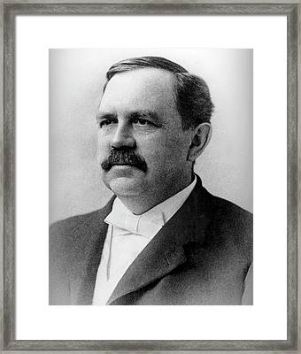 Wilbur Atwater Framed Print by Us Department Of Agriculture