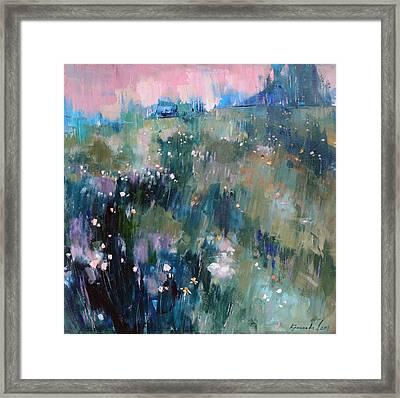 Wild Grasses  Framed Print by Anastasija Kraineva