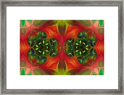 Wild Imaginings Framed Print by Georgiana Romanovna