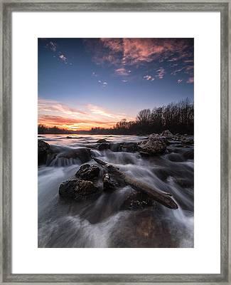 Wild River Framed Print by Davorin Mance