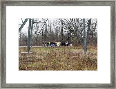 Wildlife Habitat Tour Of Corporate Land Framed Print by Jim West