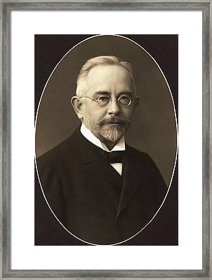 Wilhelm Johannsen Framed Print