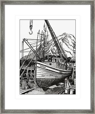 Will Fish Again Another Day Framed Print