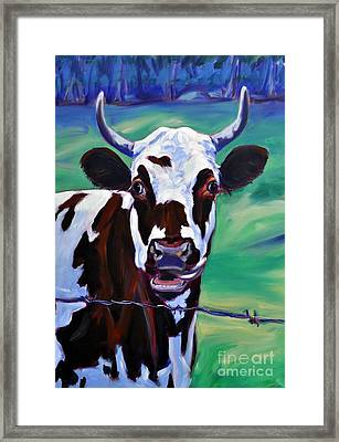 Willa Framed Print by Sylvina Rollins