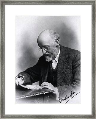 William Bayliss Framed Print by National Library Of Medicine