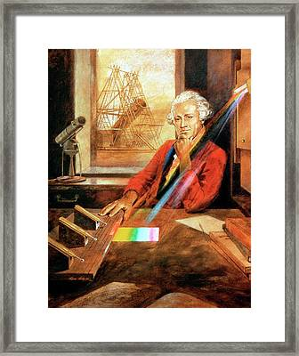 William Herschel Framed Print by Universal History Archive/uig