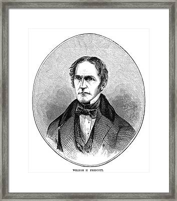 William Hickling Prescott (1796-1859) Framed Print by Granger
