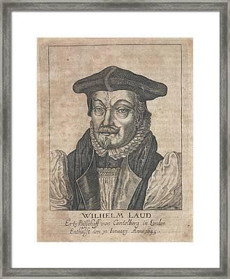 William Laud Framed Print