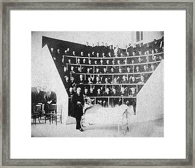 William Osler Teaching Medicine Framed Print