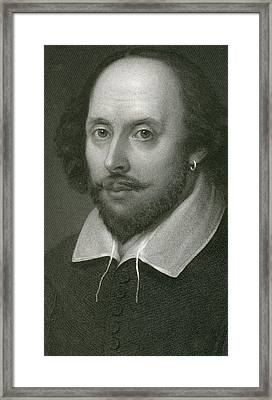 William Shakespeare Framed Print by English School