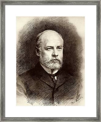 William Welch Framed Print by American Philosophical Society