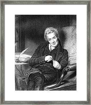 William Wilberforce Framed Print