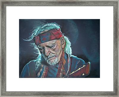 Willie Framed Print by Peter Suhocke