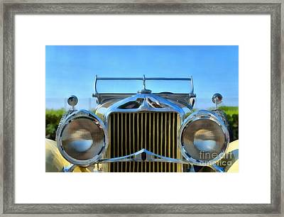 1930 Willys Knight Framed Print by George Atsametakis