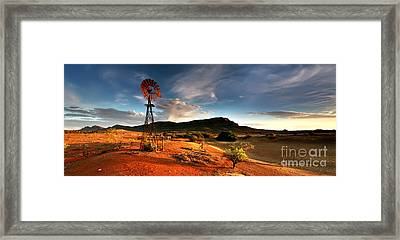 Wilpena Pound Framed Print by Bill  Robinson