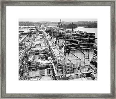Wilson Dam, C1922 Framed Print by Granger