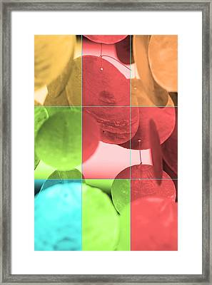 Wind Chimes  Framed Print by Tommytechno Sweden