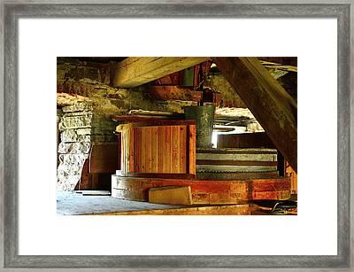 Windmill Framed Print by Tommytechno Sweden