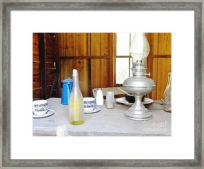 Window To The Past Framed Print by D Hackett