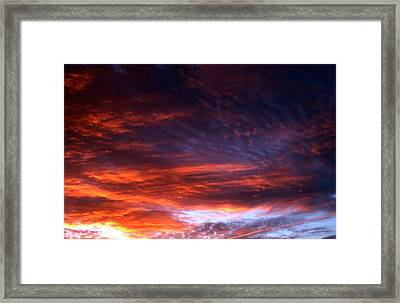 Windows Of Heaven Framed Print by Julia  Walsh
