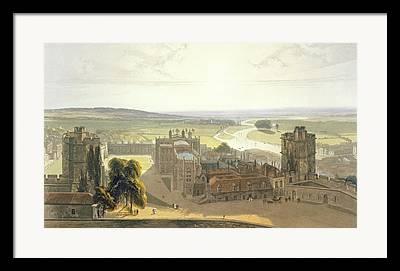 St George Drawings Framed Prints