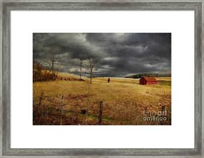 Winter Begins Framed Print