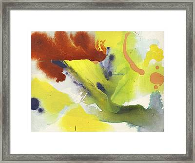 Winter Color Framed Print by Alfred Ng