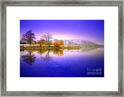 Winter Glow Framed Print by Tara Turner