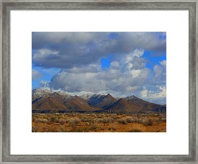 Winter In Golden Valley Framed Print