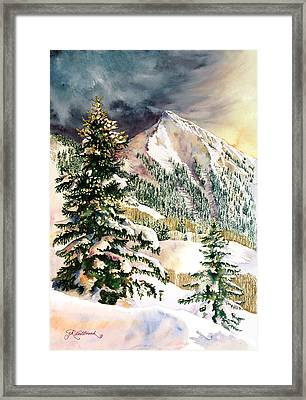Winter Morning Prism Framed Print