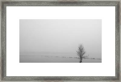 Winter Peace Framed Print by Kunal Mehra