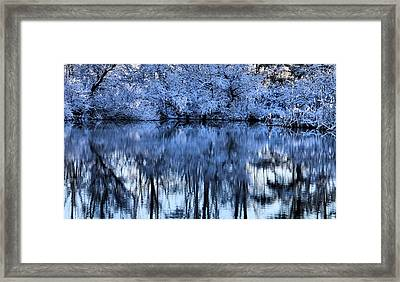 Winter Reflections Framed Print by Dan Sproul