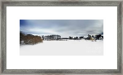 Winter Scenic Framed Print