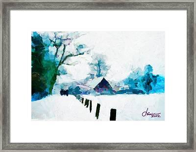 Winter Tales Tnm Framed Print by Vincent DiNovici