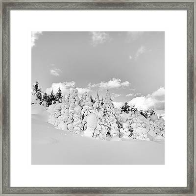 Framed Print featuring the photograph Winter Time by Frodi Brinks