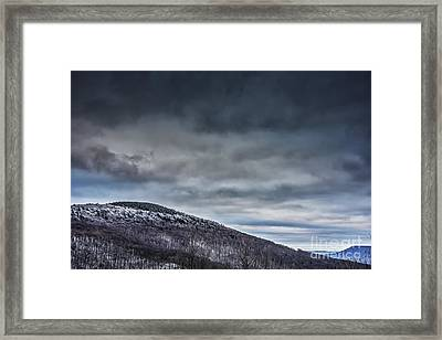Winter View Highland Scenic Highway Framed Print