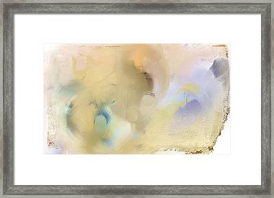 Winter's Reflection Framed Print