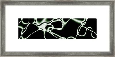 Wires Framed Print by Christopher Gaston