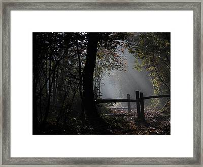 With Hope Framed Print
