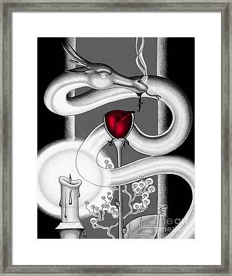 With Love II Framed Print by Robert Ball