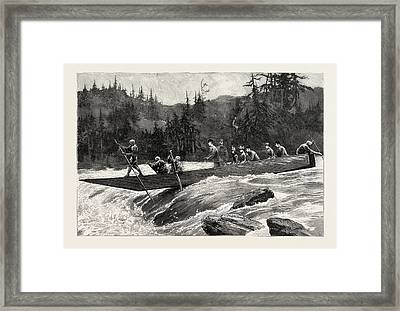With The Duke And Duchess Of Connaught In Japan, The Duke Framed Print by Japanese School