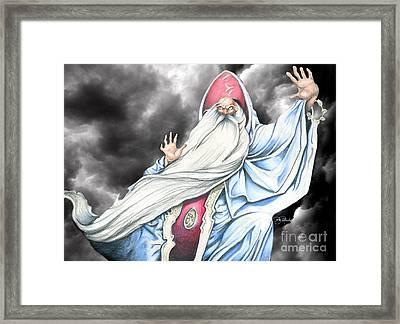 Wizard Framed Print by Bill Richards