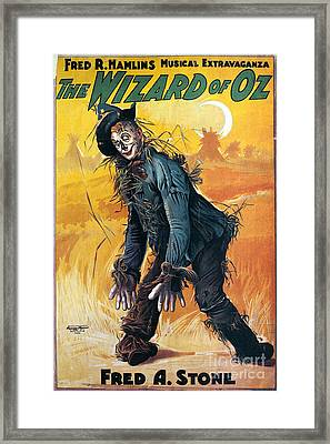 Wizard Of Oz, 1903 Framed Print by Granger