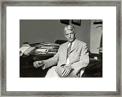 Wolfgang Kohler Framed Print by American Philosophical Society