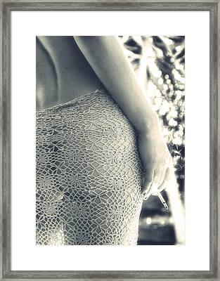 Woman Framed Print by Stelios Kleanthous