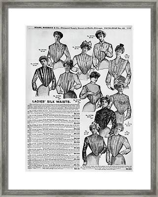 Women's Fashion, 1902 Framed Print by Granger