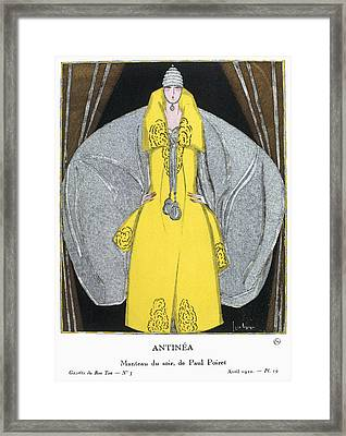 Women's Fashion, 1920 Framed Print by Granger