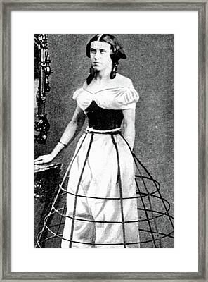 Women's Fashion, C1850 Framed Print