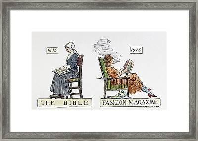 Women's Rights, 1915 Framed Print